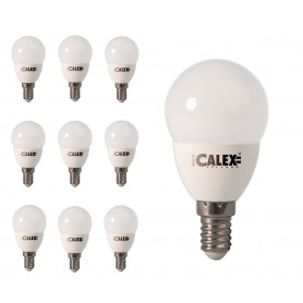 Calex - Calex Daylight LED Lamp 240V 4,5W 380lm E14 P45, 6500K - E14 LED - CA0107 www.NedRo.us