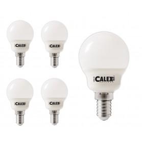 Calex, Calex Bec LED alb cald 240V 5W 470lm E14 P45, 2700K, E14 LED, CA0108-CB, EtronixCenter.com