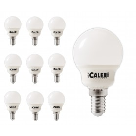Calex - Calex Warmwit LED-kogellamp 240V 5W 470lm E14 P45, 2700K - E14 LED - CA0108 www.NedRo.nl