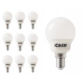 Calex - Calex Warmwit LED-kogellamp 240V 3W E14 P45, 250 lumen 2700K 25.000 uur - E14 LED - CA0106 www.NedRo.nl
