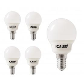Calex - Calex LED-kogellamp 240V 3W 200lm E14 P45, 2200K Extra Warmwit - E14 LED - CA0105-CB www.NedRo.nl
