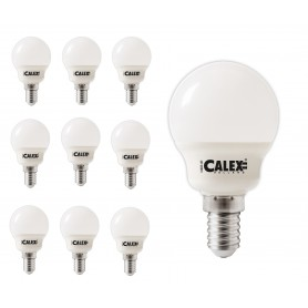 Calex - Calex LED Lamp 240V 3W 200lm E14 P45, 2200K Extra Warm White - E14 LED - CA0105-CB