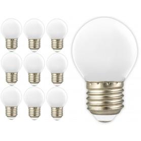 Calex, Calex LED Kogellamp 240V 1W 12lm E27 Warm Wit 2700K, E27 LED, CA0087-CB, EtronixCenter.com