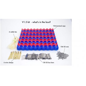 VRUZEND - Vruzend v1.5 DIY battery set for up to 52 18650 cells - Battery accessories - NK386 www.NedRo.us