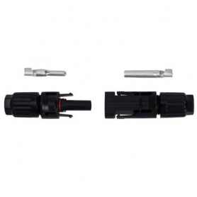 Oem - 5Pairs MC4 DC Solar Panel Connector male - female 30A 1000V - Cabling and connectors - AL289