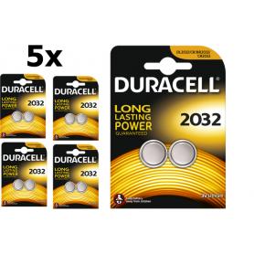 Duracell - Duracell CR2032 3V lithium knoopcel batterij - Knoopcellen - BS222-CB www.NedRo.nl