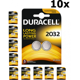 Duracell - Duracell CR2032 3V lithium battery - Button cells - BS222-CB www.NedRo.us