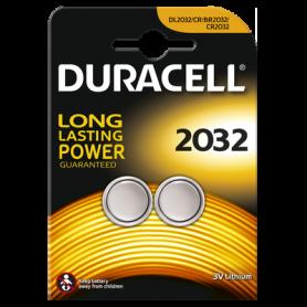 Duracell CR2032 3V lithium knoopcel batterij