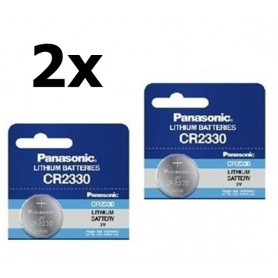 Panasonic - Panasonic Professional CR2330 P111 265mAh 3V - Button cells - BL033-CB