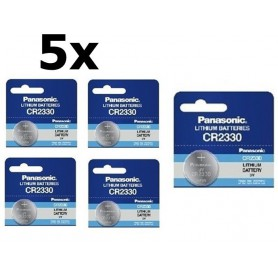 Panasonic - Panasonic Professional CR2330 P111 265mAh 3V baterie plata - Baterii plate - BL033 www.NedRo.ro