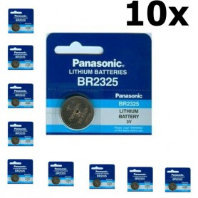 Panasonic - Panasonic Professional BR2325 / CR2325 P135 165mAh 3V battery - Button cells - BL034-CB www.NedRo.us