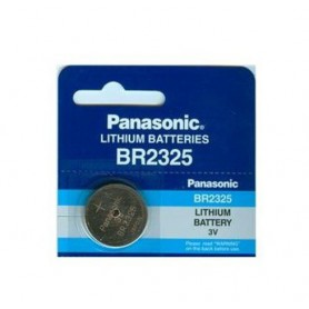 Panasonic, Panasonic Professional BR2325 / CR2325 P135 165mAh 3V battery, Button cells, BL034-CB, EtronixCenter.com