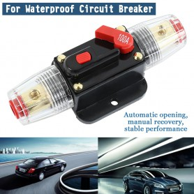 Oem - 100A 12V-24V Inline Circuit Breaker Manual Reset Switch Fuse - Fuses - AL1021