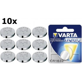 Varta - Varta CR1632 140mAh 3V Lithium battery - Button cells - BS235-CB www.NedRo.us