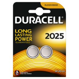 Duracell CR2025 3V lithium battery