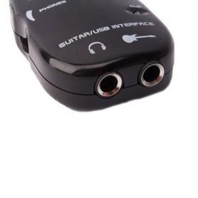 NedRo - USB Gitaar Link kabeladapter zwart - Audio adapters - AL301 www.NedRo.nl