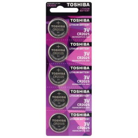 Toshiba CR2025 3v lithium button cell battery
