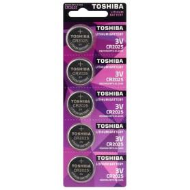 Toshiba CR2025 3v lithium button cell battery
