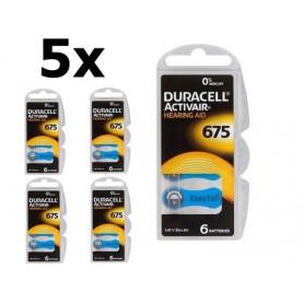 Duracell - Duracell ActivAir 675 MF Hg 0% gehoorapparaat batterij 650mAh 1.45V - Knoopcellen - BS258-CB www.NedRo.nl