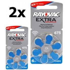 Rayovac - Rayovac 675 Extra Advanced baterii aparate auditive - Baterii plate - BS262-CB www.NedRo.ro