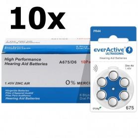 EverActive - everActive ULTRASONIC 675 Gehoorapparaat batterijen - Knoopcellen - BL284-CB www.NedRo.nl