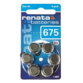 Renata - Renata 675 / ZA675 / PR44 baterii petru aparate auditive 1.45V - Baterii plate - NK395-CB www.NedRo.ro