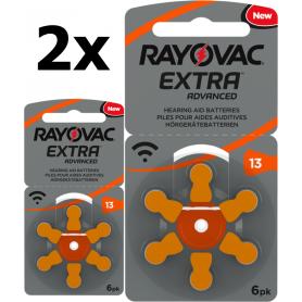 Rayovac - Rayovac Extra Advanced 13 MF Gehoorapparaat batterijen - Knoopcellen - BS266-CB www.NedRo.nl