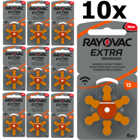 Rayovac - Rayovac Extra Advanced 13 MF baterii aparate auditive - Baterii plate - BS266-CB www.NedRo.ro