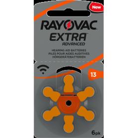 Rayovac, Rayovac Extra Advanced 13 MF Gehoorapparaat batterijen, Knoopcellen, BS266-CB, EtronixCenter.com