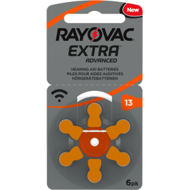 Rayovac - Rayovac Extra Advanced 13 MF Hearing Aid Battery - Button cells - BS266-CB www.NedRo.us
