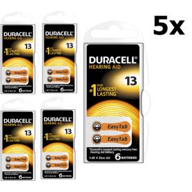 Duracell - Duracell ActivAir Type 13 (oranje) 1.45V Gehoorapparaat batterijen - Knoopcellen - BS267-CB www.NedRo.nl