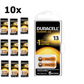 Duracell - Duracell ActivAir Hearing Aid DA13 1.45V baterii aparate auditive - Baterii plate - BS267-CB www.NedRo.ro