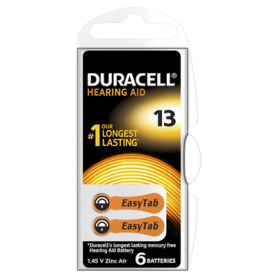 Duracell - Duracell Hearing Aid DA13 1.45V baterii aparate auditive - Baterii plate - BS267-CB www.NedRo.ro