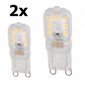 NedRo - Mini G9 5W Warm Wit Milky SMD2835 LED Lamp - Dimbaar - G9 LED - AL166-C www.NedRo.nl
