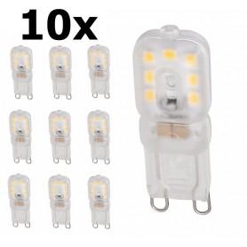 NedRo - Mini G9 5W Bec cu LED-uri Alb Cald Milky SMD2835 - Reglabil - G9 LED - AL166-CB www.NedRo.ro