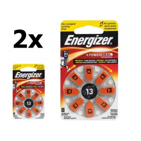 Energizer - Energizer 13 / PR48 1.45V baterii aparate auditive - Baterii plate - BL287-CB www.NedRo.ro