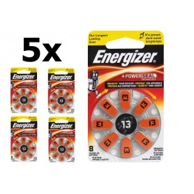 Energizer - Energizer 13 / PR48 1.45V Hearing Aid Battery - Hearing batteries - BL287-CB