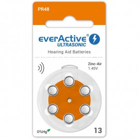 EverActive - everActive ULTRASONIC 13 1.45V baterii aparate auditive - Baterii plate - BL288-CB www.NedRo.ro