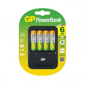 2h GP PB550  Speed Battery Charger + 4x AA 2700mAh ReCyko + 2700 Series