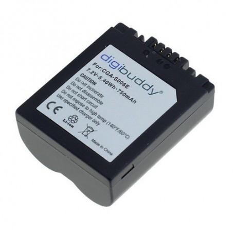 OTB - Batterij voor Panasonic CGR-S006 750mAh - Panasonic foto-video batterijen - ON1867 www.NedRo.nl