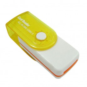 Oem - Card Reader Adapter 4 in 1 USB2.0 M2 SD SDHC SD TF - SD and USB Memory - AL285-CB