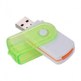 NedRo, Adaptor cititor de carduri 4 în 1 USB2.0 M2 SD SDHC SD TF, Memorie SD si USB, AL285-CB, EtronixCenter.com