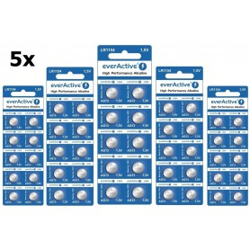 EverActive - everActive AG13 G13 LR1154 LR44 1.5v Alkaline button cell battery - Button cells - BL164-CB