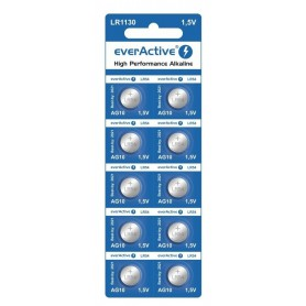 EverActive - everActive AG10 G10 LR1130 LR54 1.5V 70mAh button cell battery - Button cells - BL165-CB