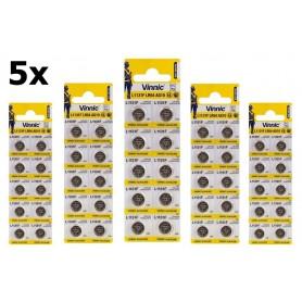 Vinnic - Vinnic AG10 G10 LR1131 1.5V button cell battery - Button cells - BL294-CB