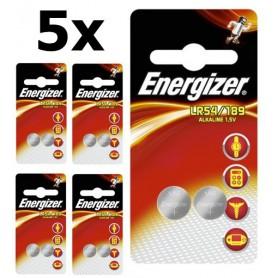 Energizer - Energizer G10 / LR54 / 189 / AG10 1.5V Alkaline button cell battery - Button cells - BL295-CB