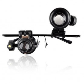 20x-zoom vergrootglasglazen met LED-lampje