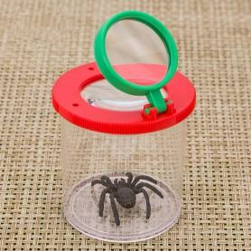 NedRo - 3X dubbele lens insecten vergrootglas - Loepen en Microscopen - WW22000842 www.NedRo.nl