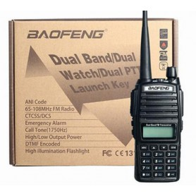 NedRo, UV-82 dual PTT Walkie Talkie UHF+VHF 136-174MHZ+400-520MHZ, Telefoon accessoires, AL1054, EtronixCenter.com