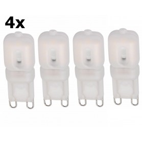 NedRo, Mini G9 5W Bec cu LED-uri Alb Rece SMD2835 - Reglabil, G9 LED, AL167-CB, EtronixCenter.com